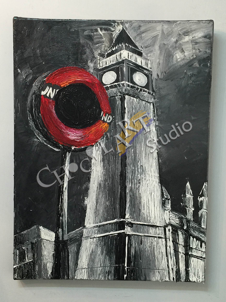 """London in the dark"" by One"